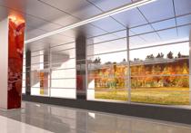 В метро появится станция с прозрачными стенами