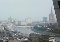 Антициклон испортил воздух в столице