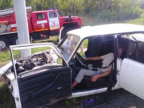 Пассажир выпал излегковушки натрассе М7 вЧувашии
