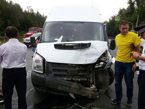 Девять человек пострадали вДТП вЧебоксарском районе