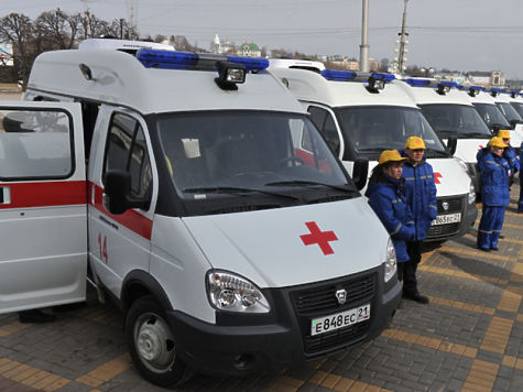 ВАлтайский край поступит 17 новых машин скорой помощи