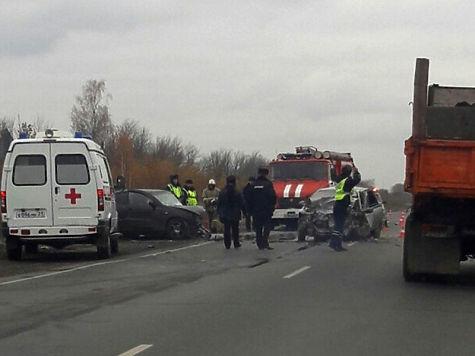 ВЧувашии вДТП погибли два человека, четверо получили ранения
