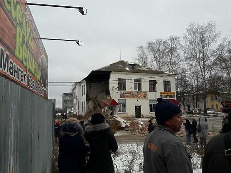 ВЧебоксарах обвалился дом