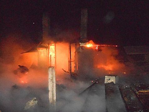ВЧувашии дети сожгли строение  бесхозного медпункта