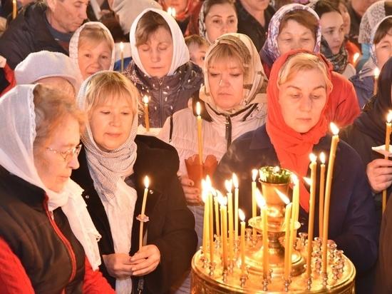Более 30 тысяч верующих  посетили храмы Чувашии на Пасху