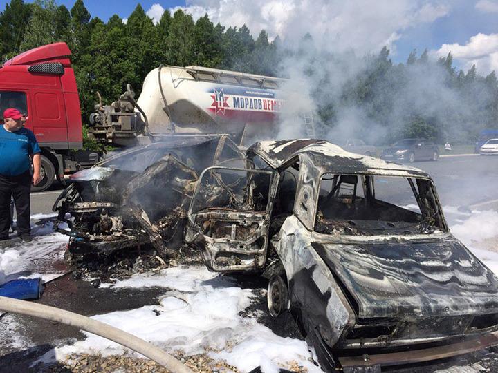 ВКанашском районе в ужасной трагедии погибли три человека