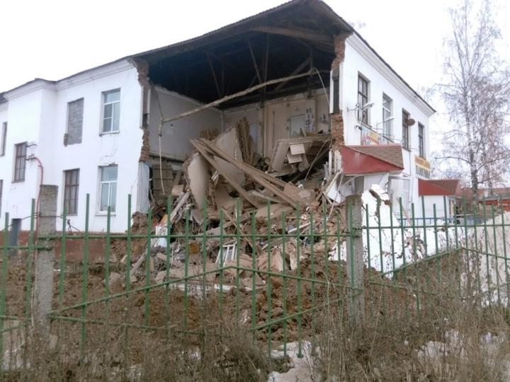 ВЧебоксарах назвали причину обрушения здания наГражданской