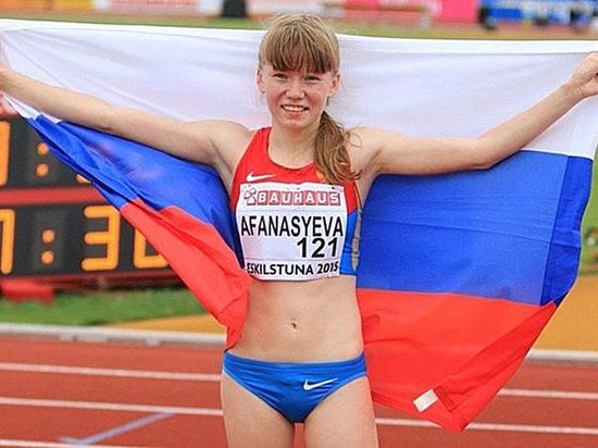 Клавдия Афанасьева изМордовии выиграла чемпионат Европы полегкой атлетике