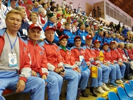 Легкоатлеты Чувашии заняли первое место на Спартакиаде пенсионеров