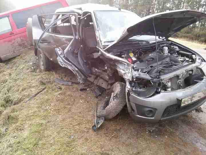 Натрассе «Цивильск-Красноармейск» вЧувашии столкнулись две иномарки: пострадали 5 человек