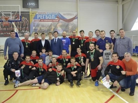 Чувашские регболисты взяли бронзу чемпионата России